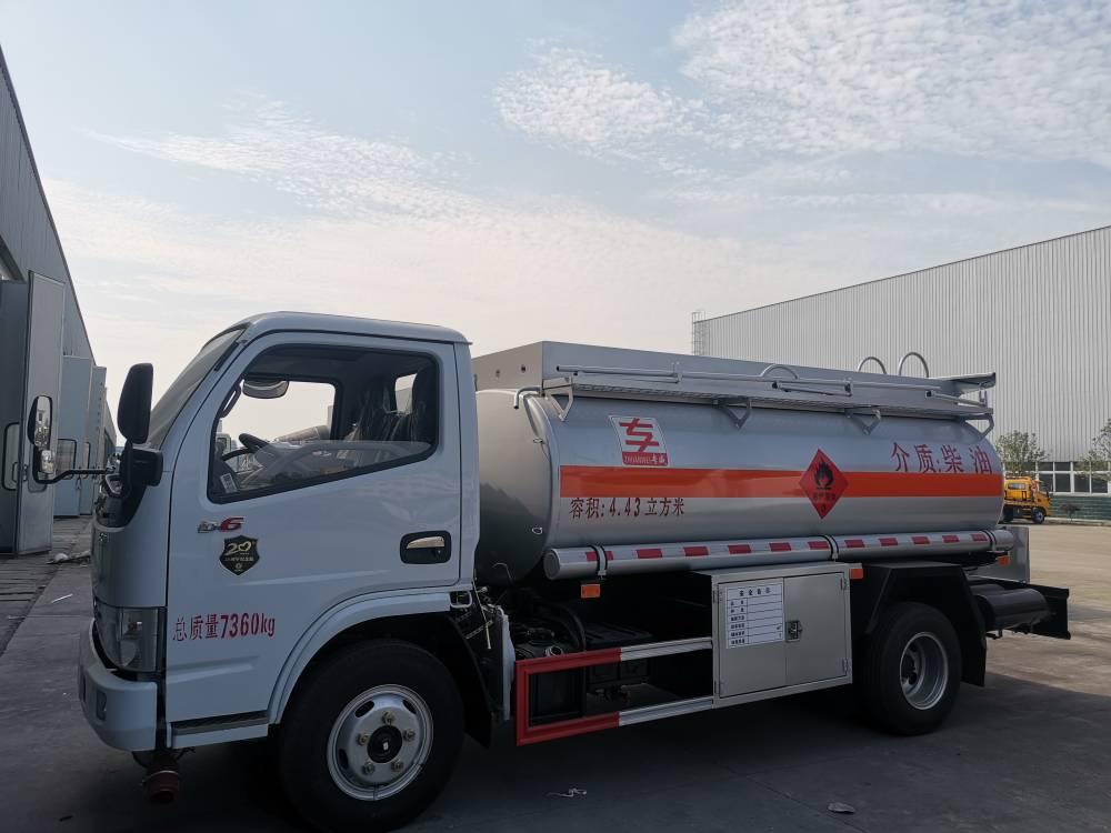 5吨油罐车加油车厂家直销低价出售