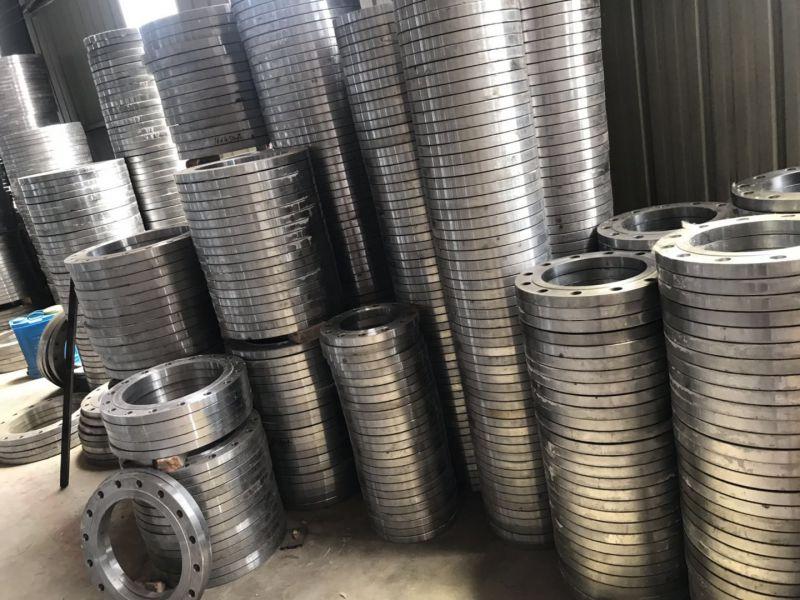 孟村法兰厂家20#大口径法兰高压对焊法兰