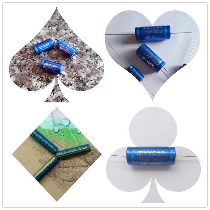 轴向、卧式无极性电解电容、铅笔型、超小型、长寿命、高频低阻