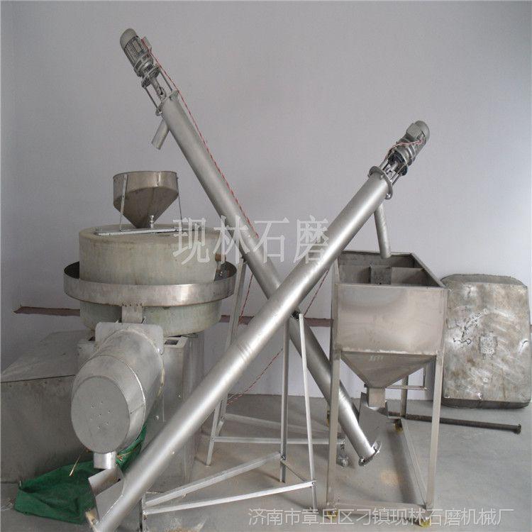 石盘式面粉石磨机组 面条加工厂用石磨面粉机 高梁石磨面粉机