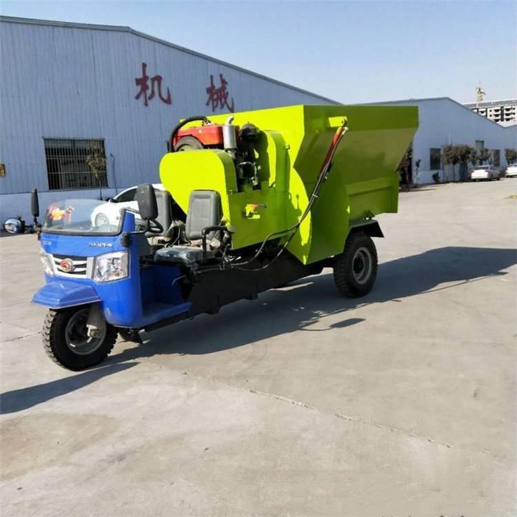 柴油饲料撒料车 全自动撒料车 牛羊饲料撒料车 优质喂料车