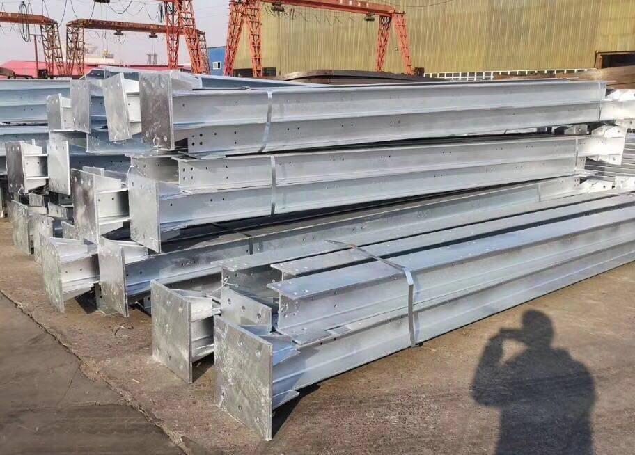 高铁热镀锌声屏障立柱 H钢立柱