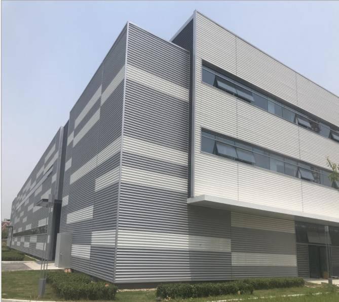 工业厂房外墙铝合金波纹板 1.0厚铝镁锰板厂家 镀铝锌波纹板批发 墙面竖铺铝波纹板