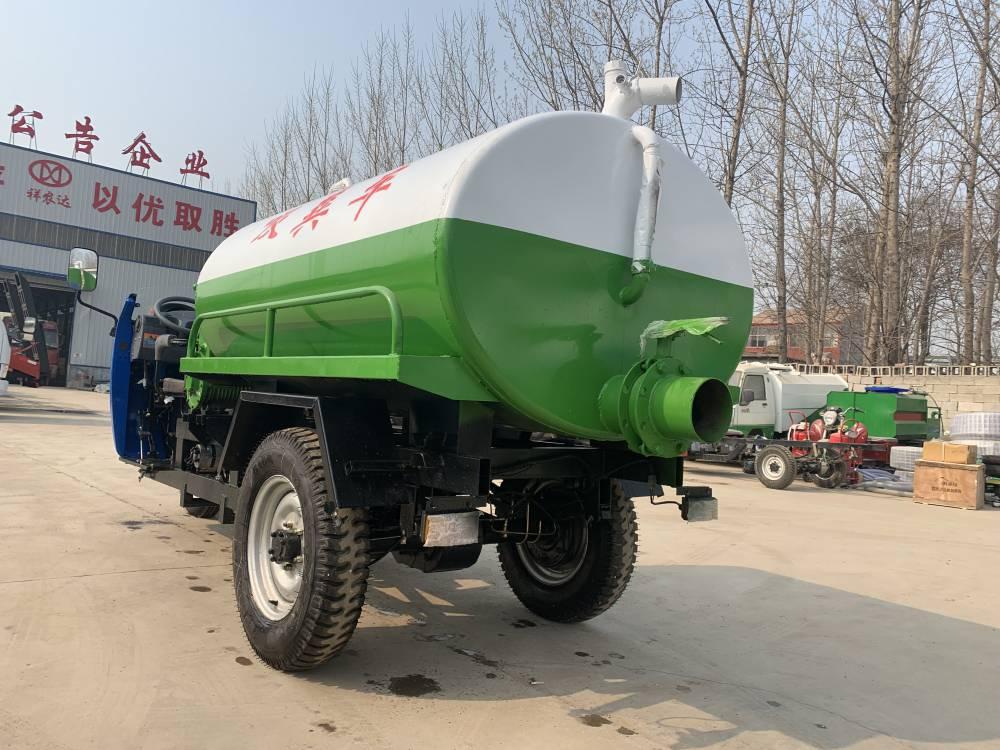 福田农用三轮吸粪车 原厂供应 祥运 出售小型农用三轮吸粪车