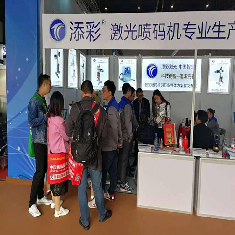 PE管材PVC建材塑钢型材激光打码机定制 添彩 销售卫浴激光