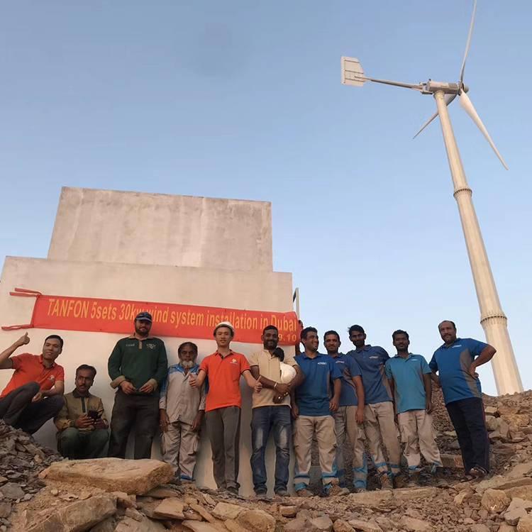 晟成大型20千瓦风力发电机 并网风力发电机 家用风力发电机厂家大全