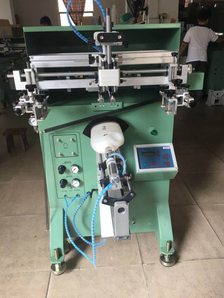 九江高尔夫球杆转盘丝印机厂家半自动丝印机