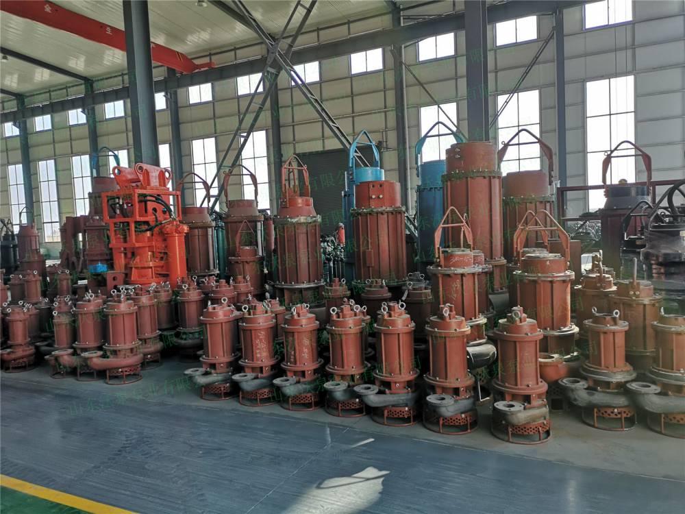 沃泉泵业挖机液压渣浆泵 新一代电动砂浆泵生产车间