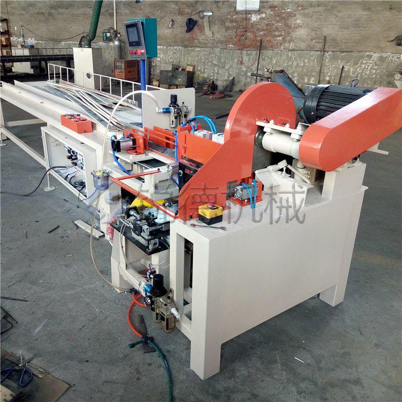 锐德自动脚墩机 木工机械打钉机 木托盘脚墩机生产厂家