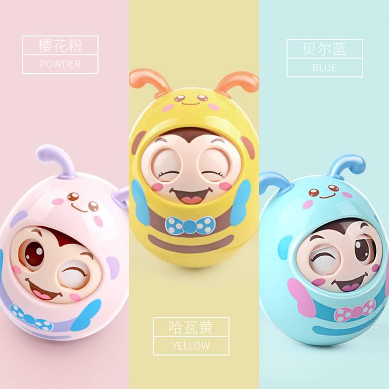 聚乐宝贝厂家直销益智婴儿玩具会眨眼不到翁