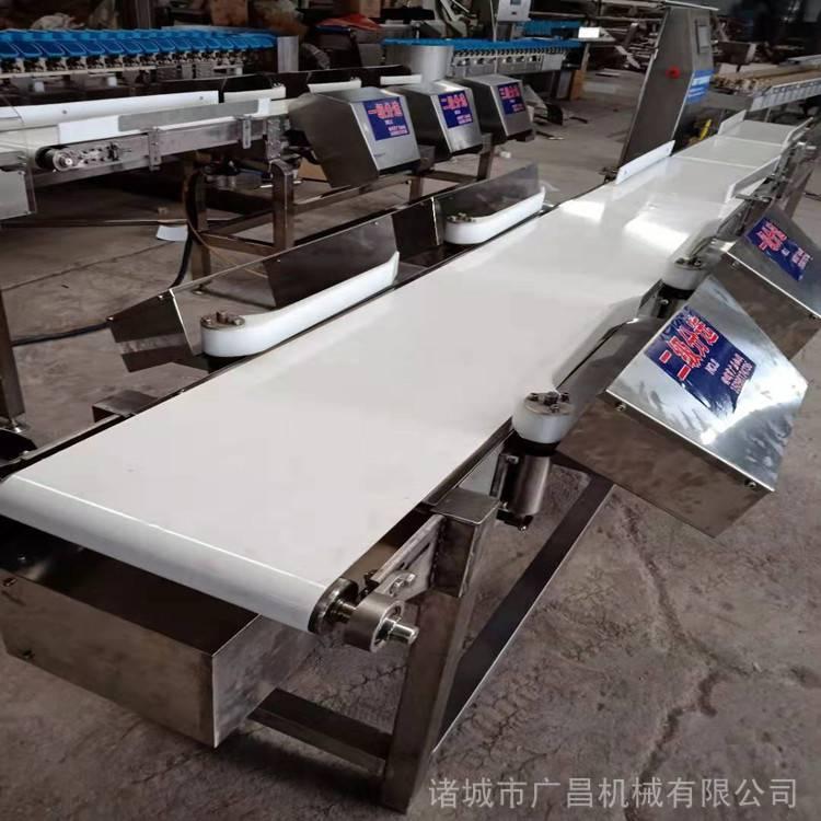 销售 鱼分选机 皮带式鲅鱼重量分选机 自动分级机