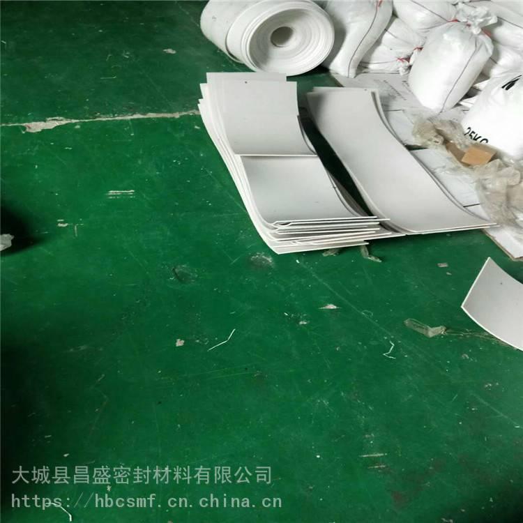 河北 昌盛 5mm楼梯专用四氟板 定制各种规格 防静电PTFE四氟板
