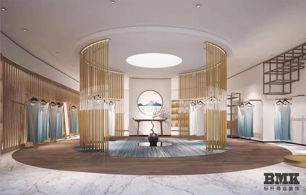 南京服装展示柜制作_标杆服装展示柜服装展示架生产厂家