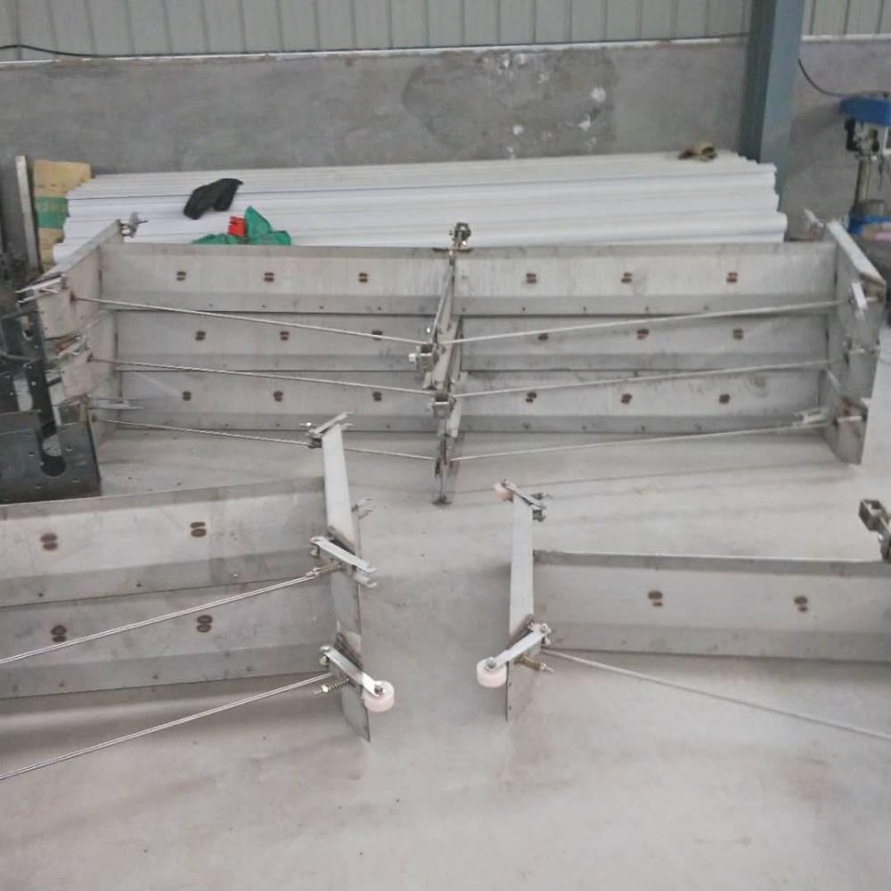 现代化养猪场清洁设备 自动刮粪机 不锈钢清粪机