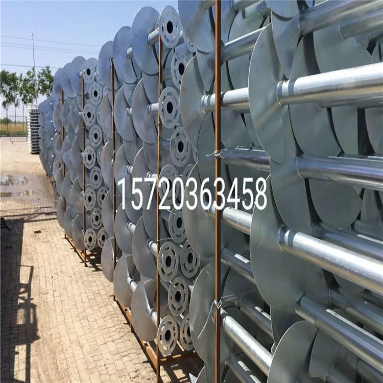 专业生产 螺旋地桩 预埋桩 蛟龙桩 太阳能光伏工程专用桩