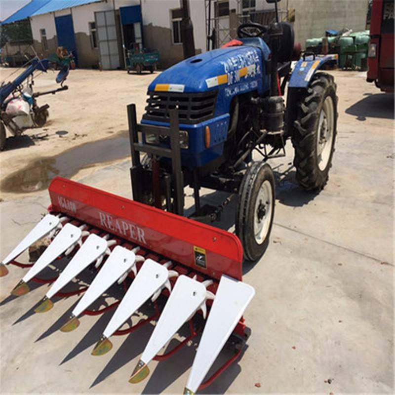 小地块手扶车割晒机 谷物收获机 优质黑麦草手扶车割晒机