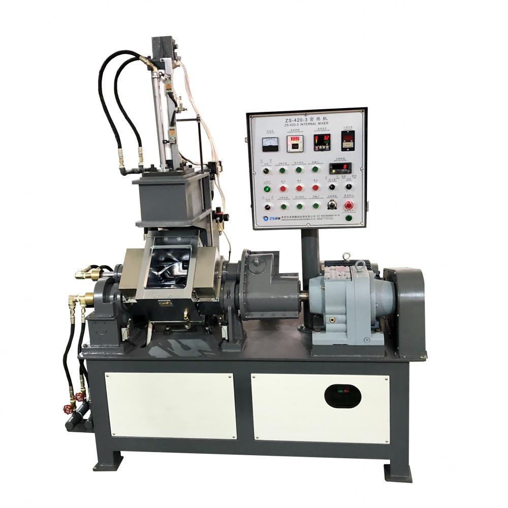 ZS-420-3L翻缸式橡胶密炼机 开合式小型密炼机