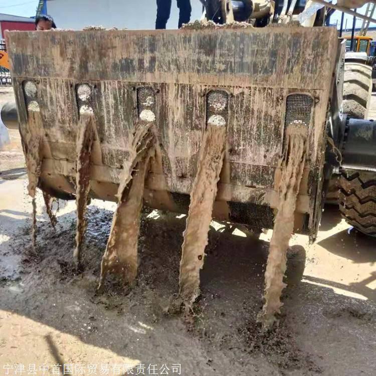 洗砂機鏟車改裝紗網式洗沙斗洗的干凈