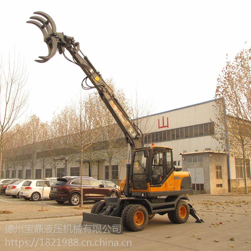 宝鼎抓木机BD95W-9,行业产品中的姣姣者
