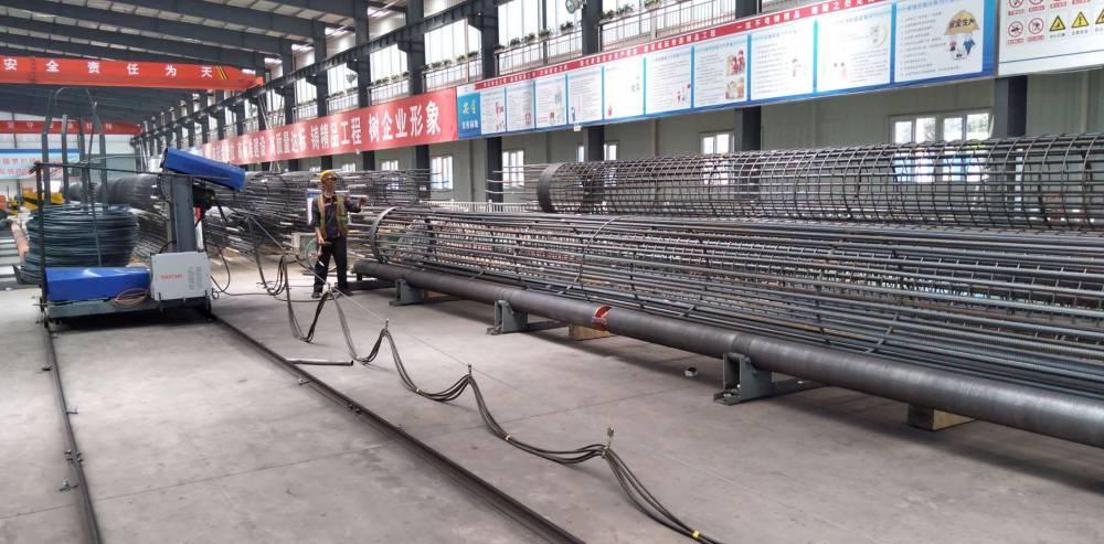 数控钢筋笼绕筋机 钢筋笼绕丝机
