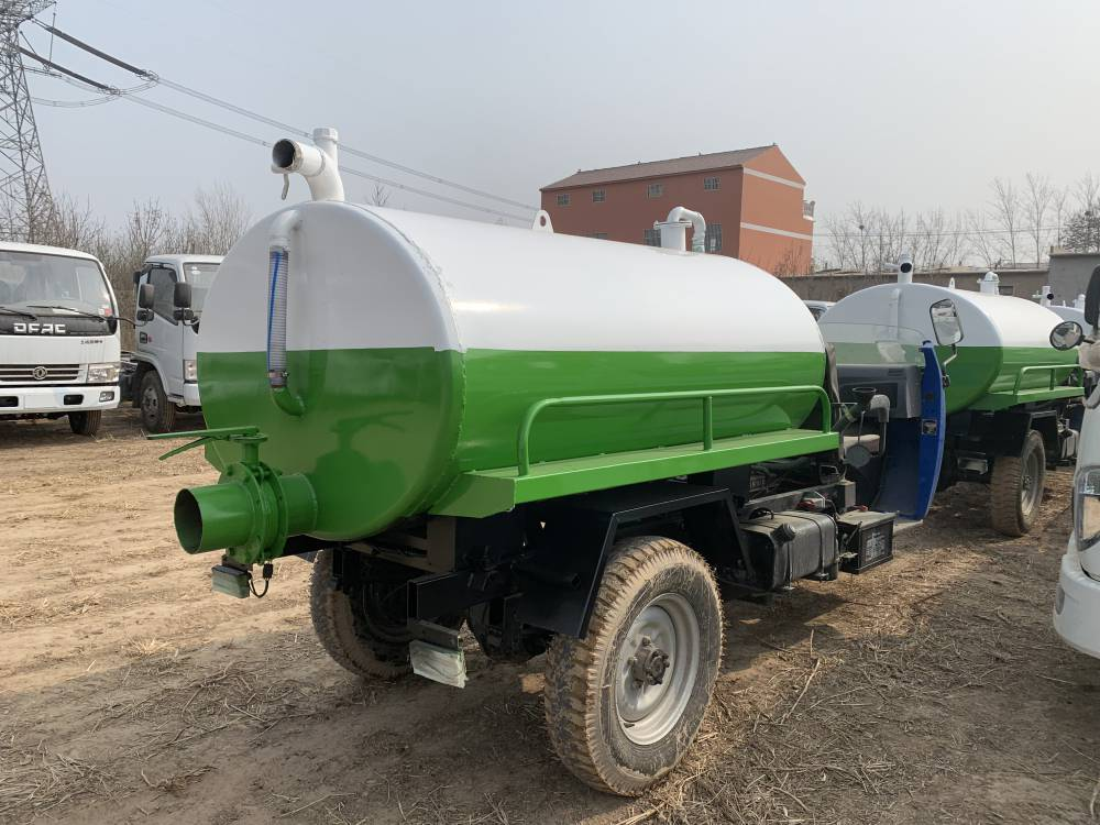 福田农用三轮吸粪车 大量供应 祥运 供应2立方三轮吸粪车 环