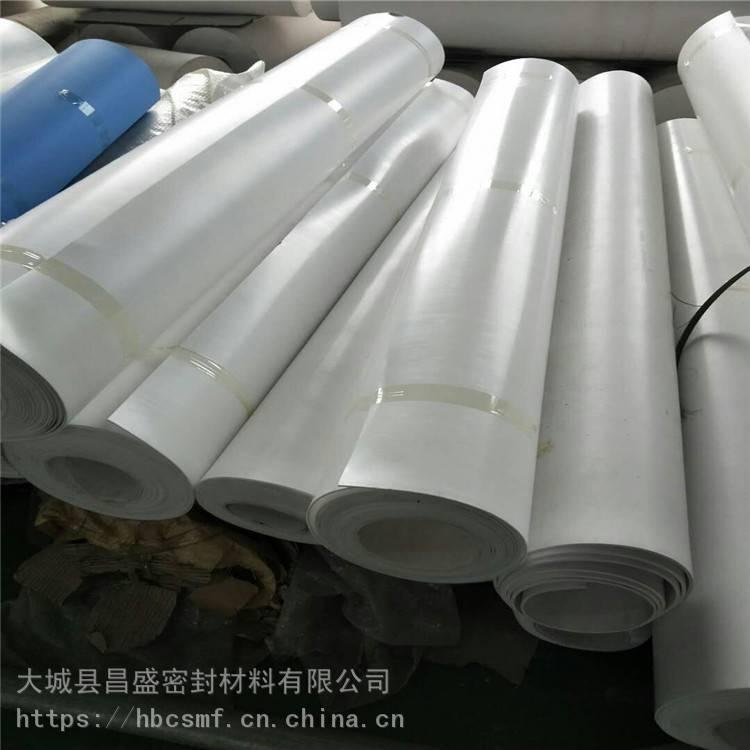 廊坊昌盛密封 防静电四氟板 定制PTFE白色AG8亚游集团