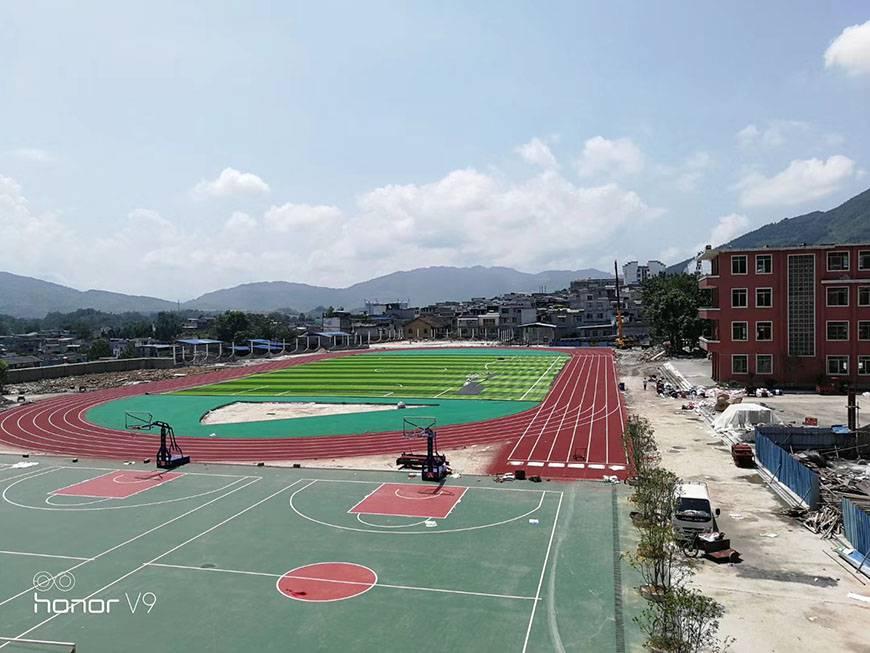 室外篮球场施工多少钱一平方 室外篮球场施工施工流程