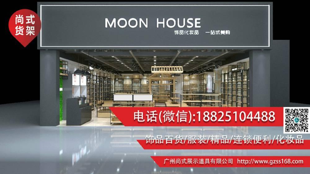 华东地区源头厂家伶俐货架饰品店货架厂价出售免费整店设计