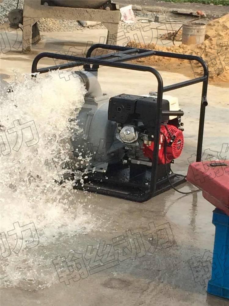 6寸汽油机抽水泵大流量