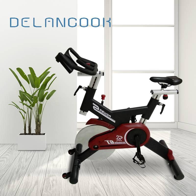 德兰库克动感单车 超静音康复训练健身单车 运动器材