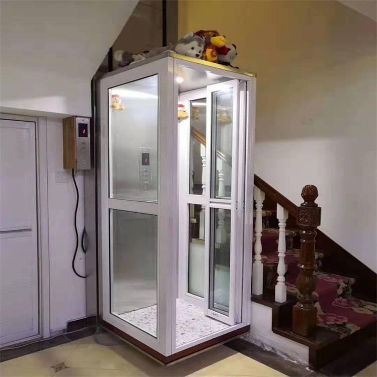 小型家用电梯 2层3层液压别墅电梯