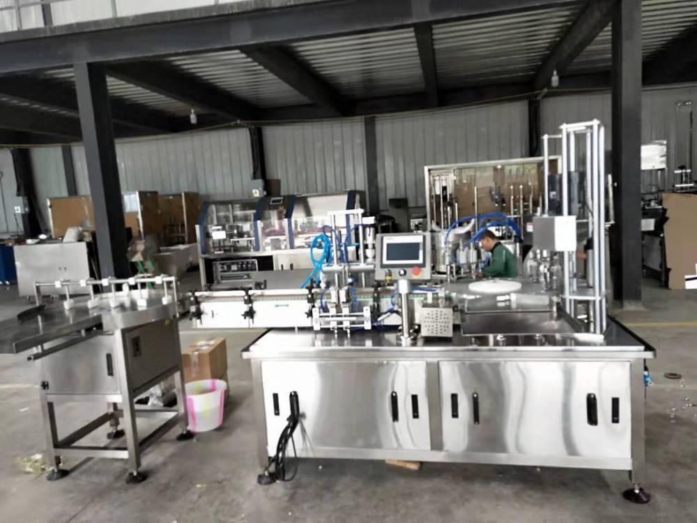 西林瓶液体全自动灌装轧盖机厂家直销价