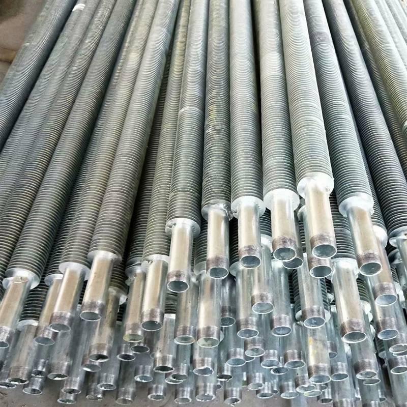 养殖大棚翅片管暖气片 钢制热镀锌大棚翅片管价格