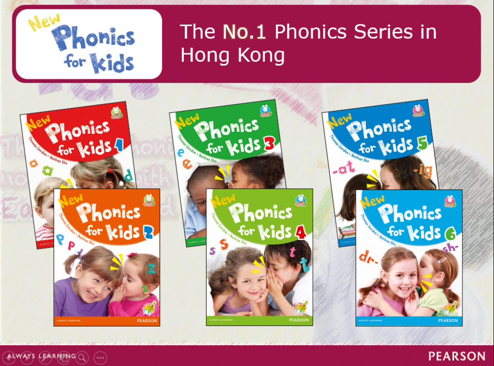 培生自然拼讀教材New Phonics for Kids