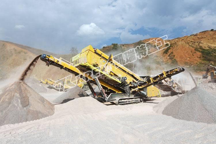 砂石生產線中的破碎設備該如何選擇?