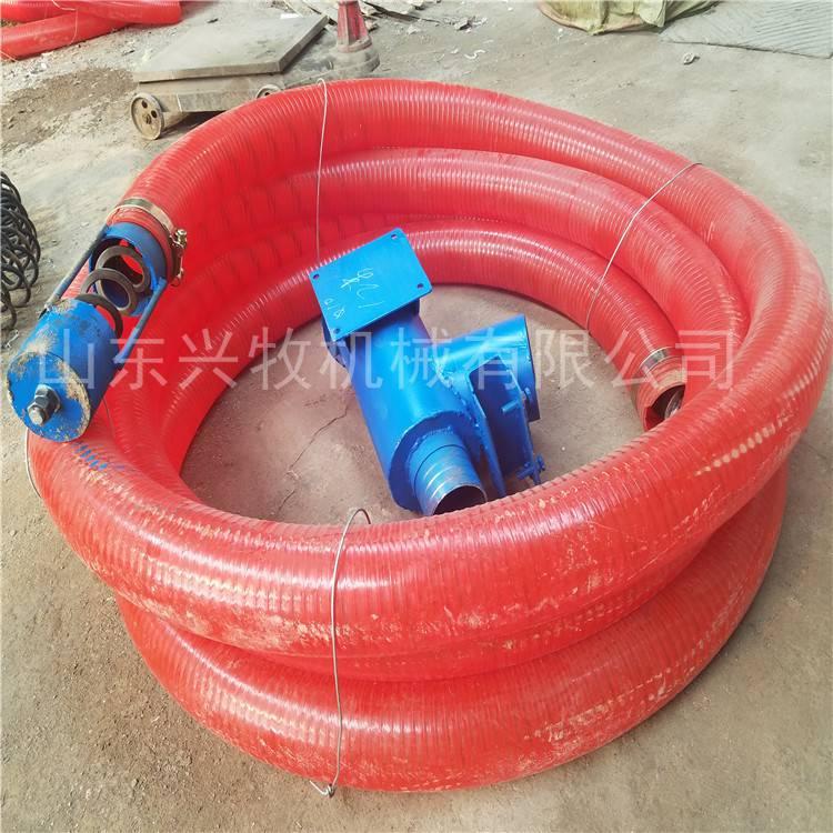 农用粮食输送机 电动螺旋软管吸粮机