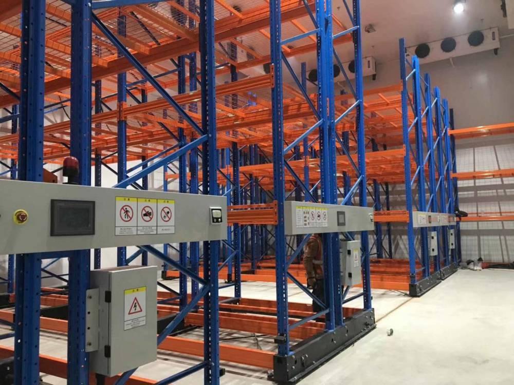 庫房貨架 移動式托盤貨架 高位電動貨架