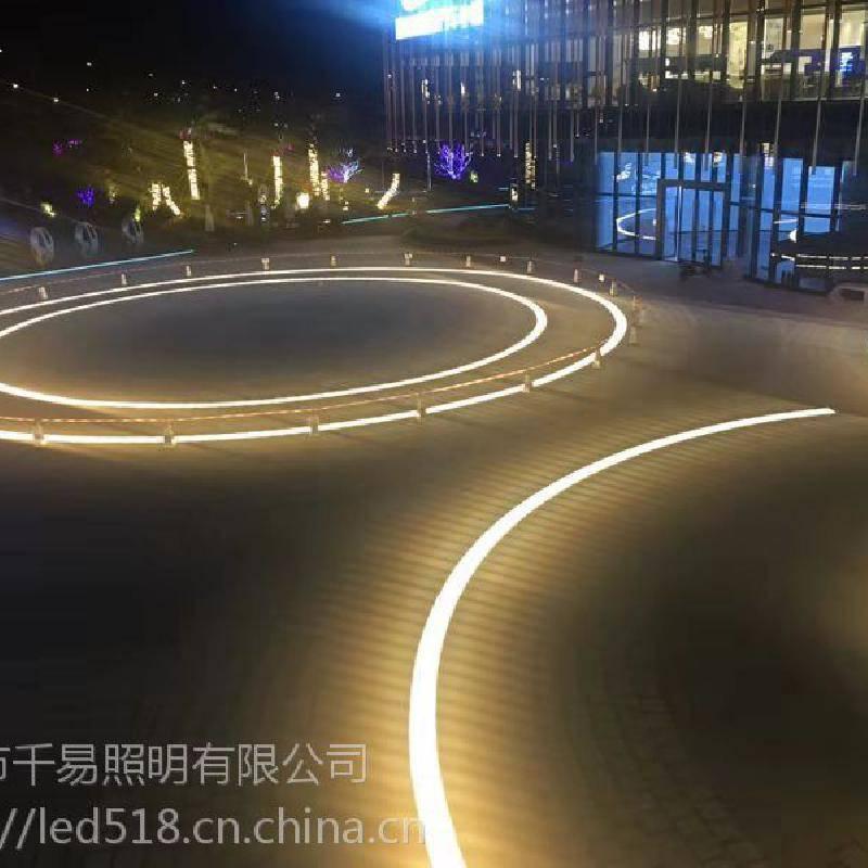 优质LED扇形弧形埋地灯广场地砖灯报价