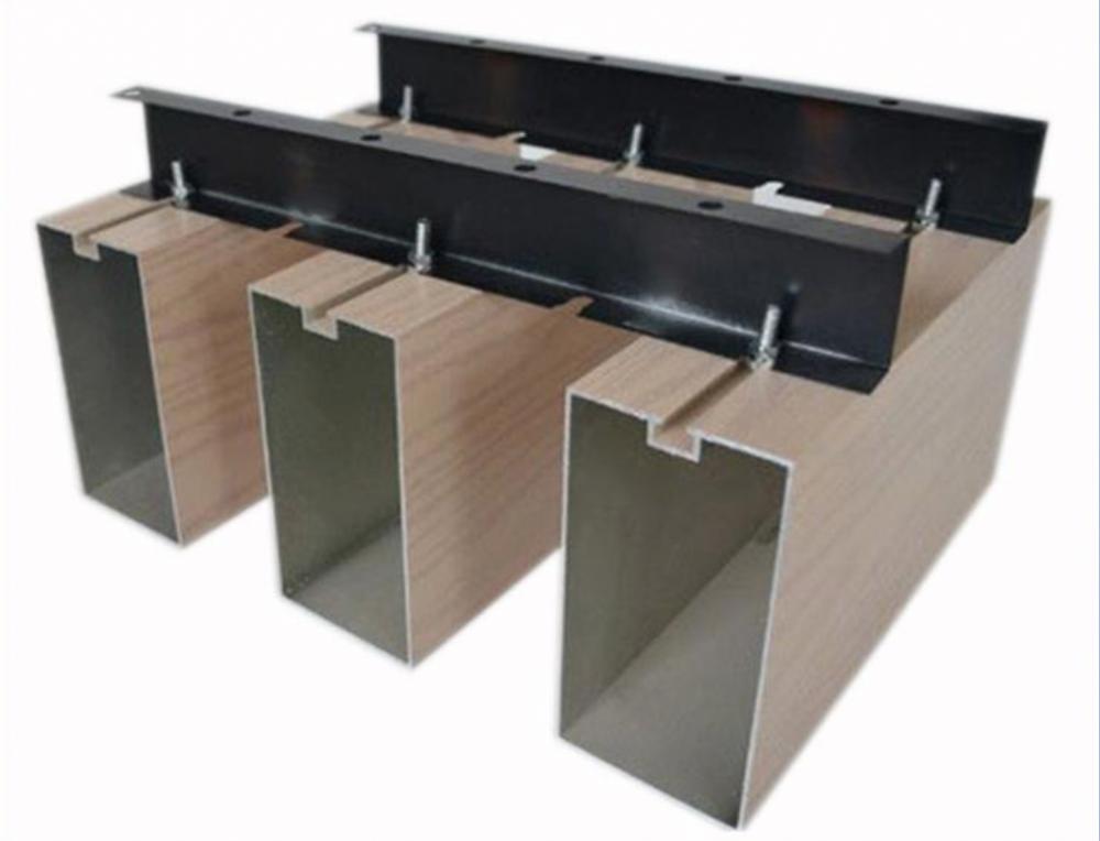 沈阳木纹铝方通-沈阳U型木纹铝方通厂家-沈阳木纹造型铝方通