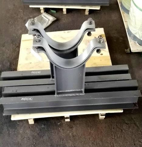 J3型加筋焊接T型管托 空调管道用