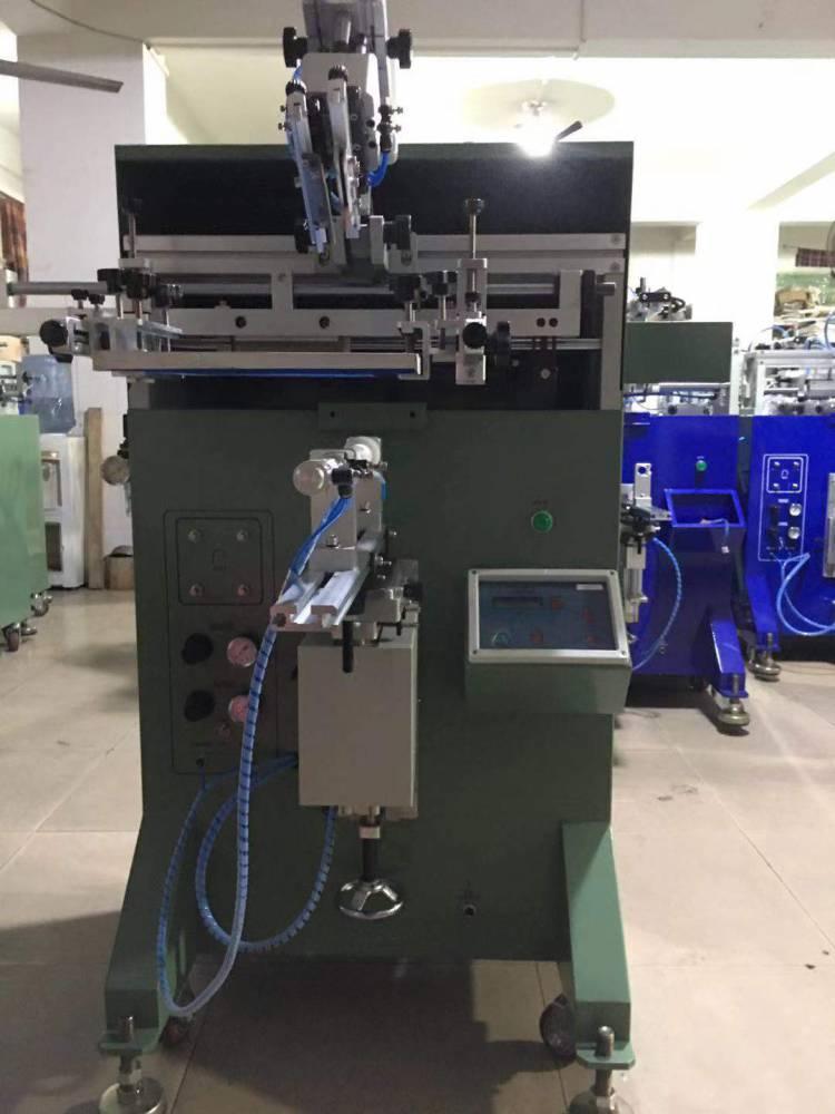 岳阳刻度杯量杯平面丝印机厂家伺服丝印机