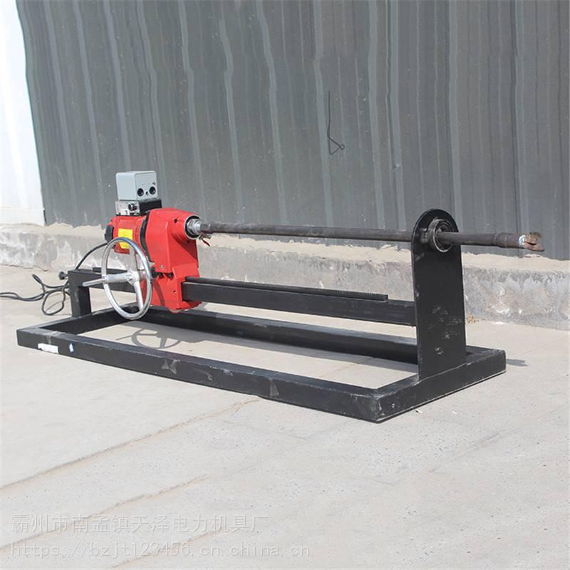 小型液压非开挖钻孔机 小型穿越水钻机 过路钻孔机价格 天泽图片