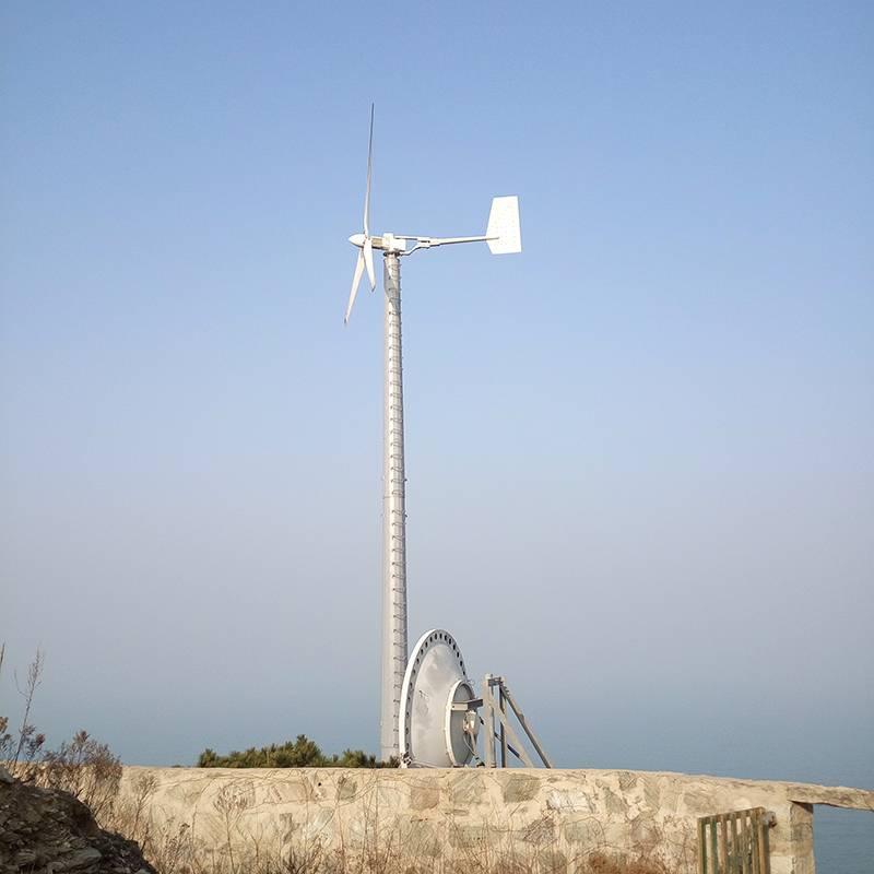 楼顶用离网风力发电机充电效率高发电快