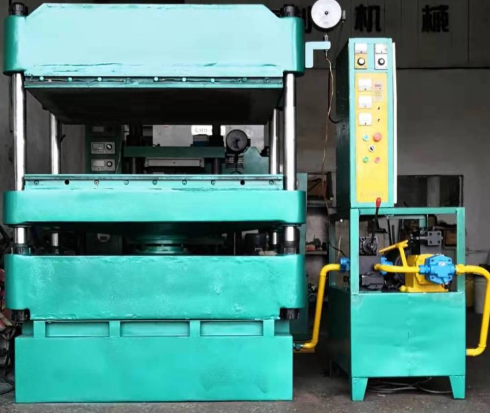 80吨大台面二手油压机液压机皮革箱包压纹机工厂直销