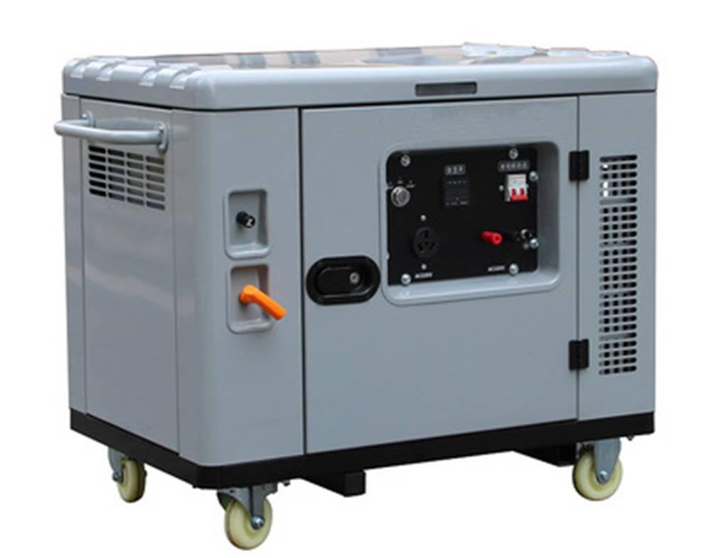 贝隆8KW静音汽油发电机组BL10000SE192F汽油机纯铜电机