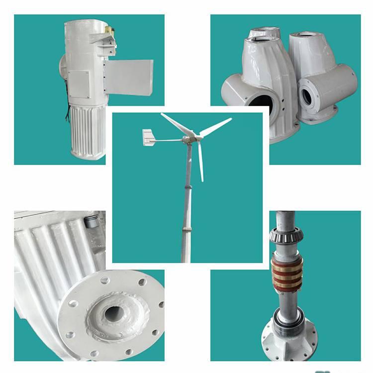 晟成FD7.0型10KW离网风力发电机组 森林防火监控设备供电省线