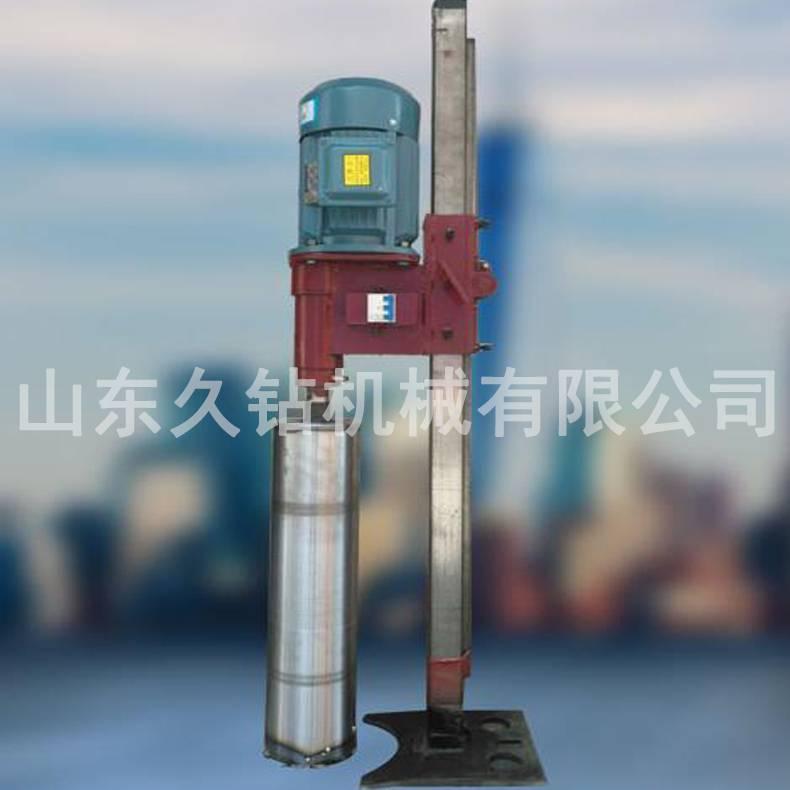 热销久钻抗滑桩水磨钻机 水磨桩施工操作简单5.5KW水磨钻