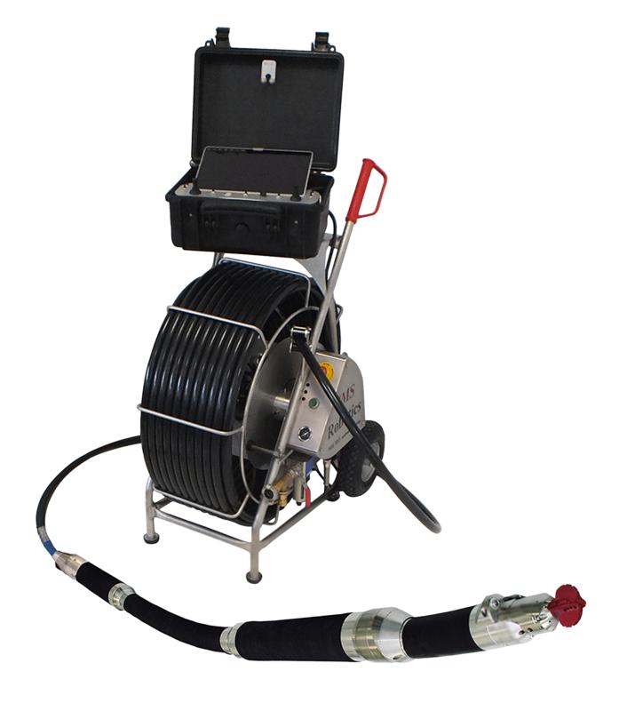 80-250mm管道切割机器人 竖直管道切削打磨 管道修复