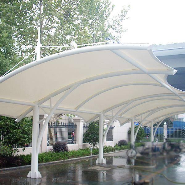室外停车棚膜结构有哪些维护和保养的方法呢?
