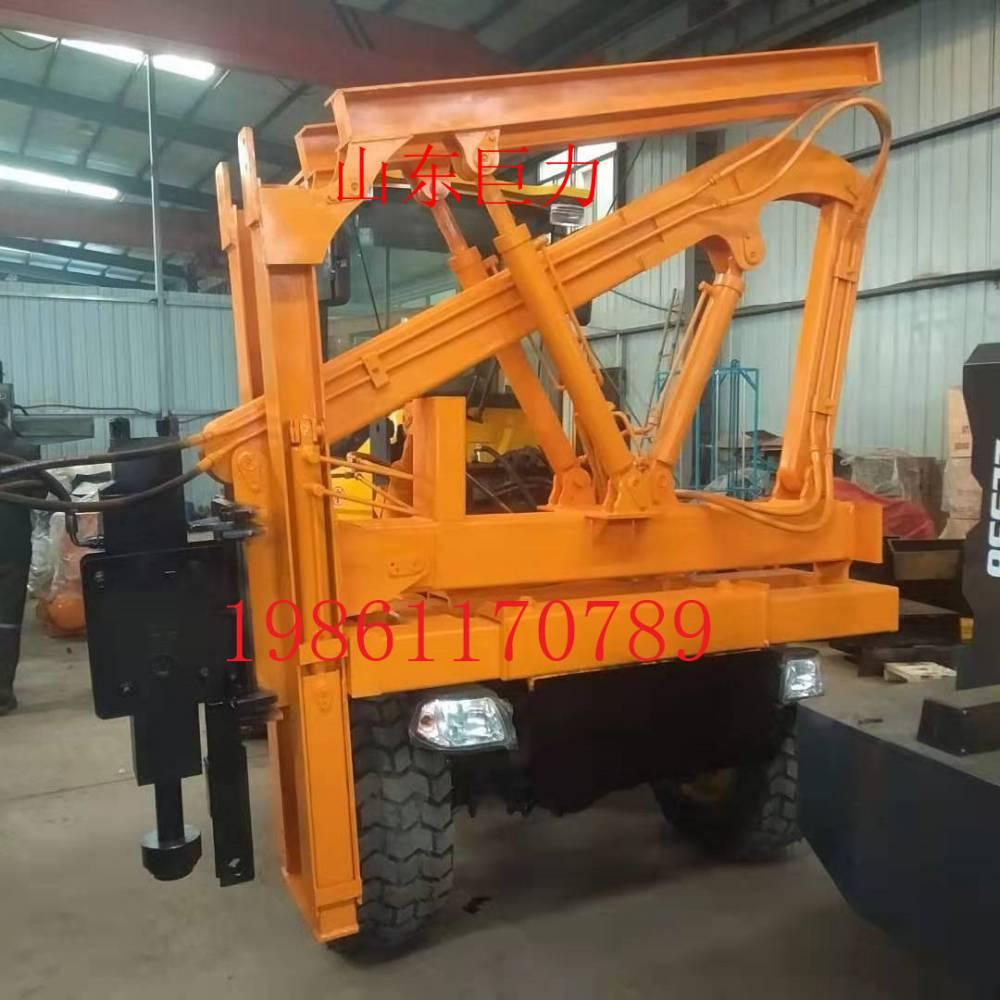 山东巨力JL936打桩锤打拔钻打桩机生产厂家使用说明